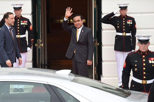 Thai PM says foreign countries are not listening to government's plan for Thailand's stability