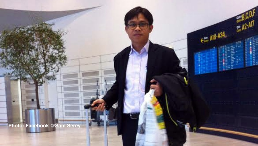 Who is Sam Serey the Cambodian dissident deported from Thailand recently?