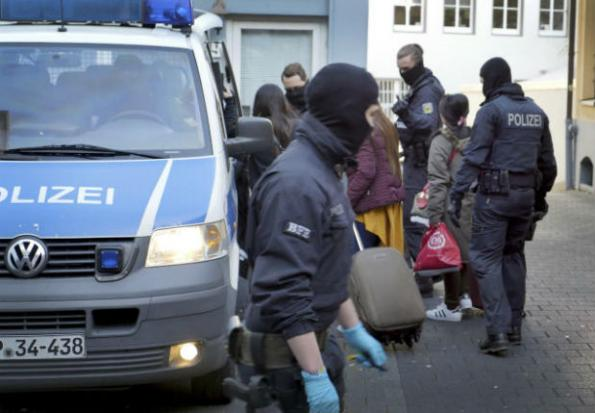 German police raid Thai ssex trafficking gang's brothels in Germany