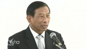 Thai Commerce Minister General Chatchai Sarikalya