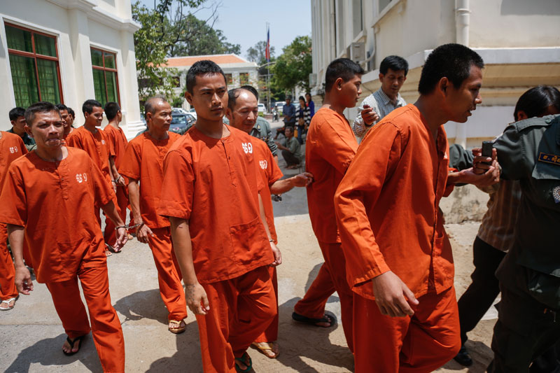 Khymer Liberation Front members imprisoned in Cambodia