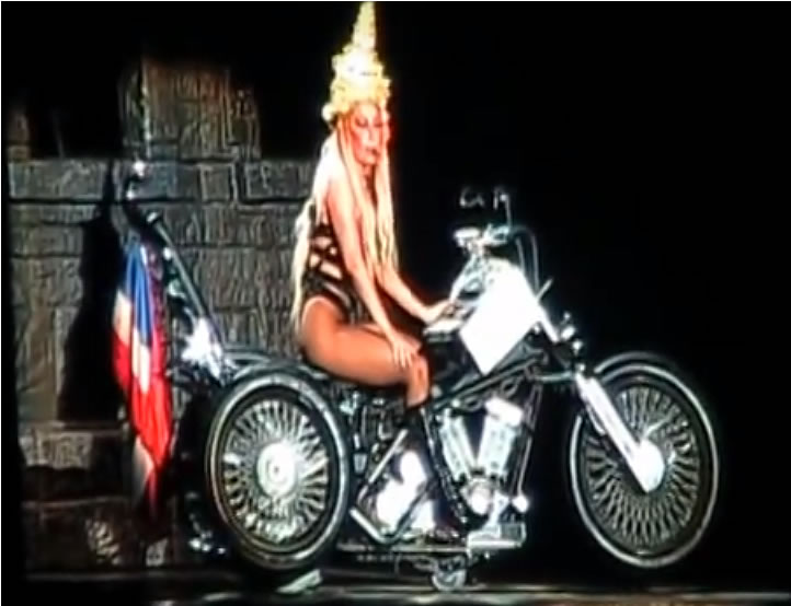 Lady Gaga in concert in Bangkok. It was a turning point in the fight against fake goods in Thailand