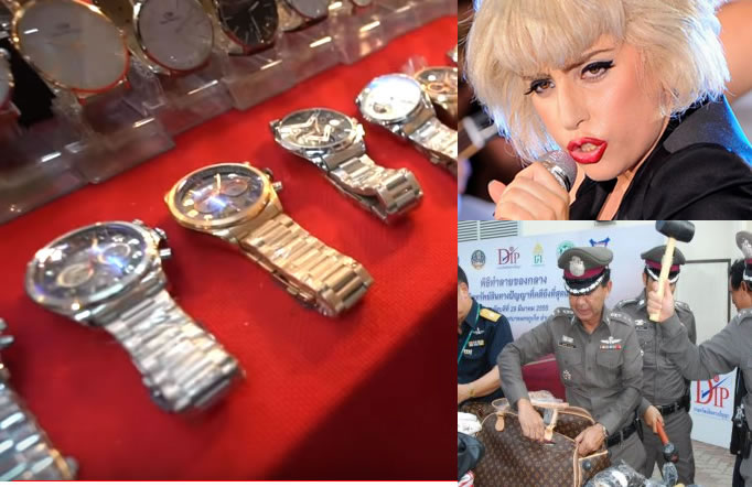 Fake goods and counterfeit brands in Thailand not yet a thing of the past but maybe soon