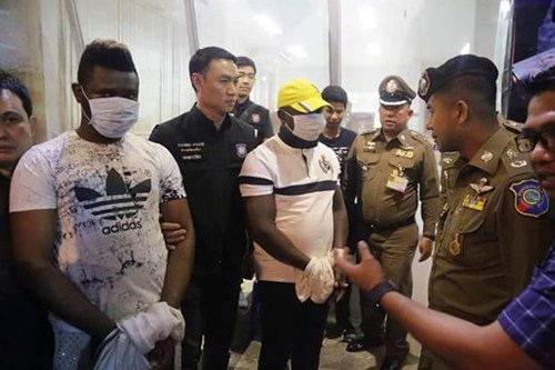 The scam is up – Nigerian lover boys arrested for taking advantage of Thai women seeking Love online