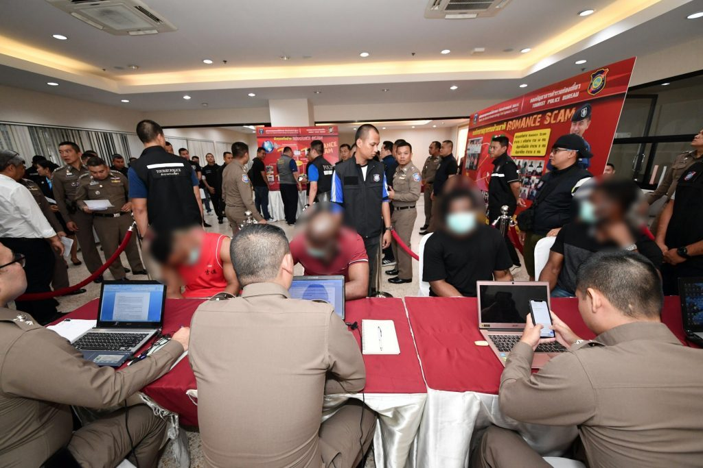 More Nigerians busted by Thai police for targeting vulnerable Thai women seeking love online