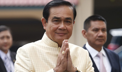 Prayuth indicates an interest in political office – favourite as Thailand's next Prime Minister