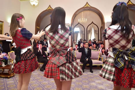 Thai PM may yet change the culture in Thailand and last month emerged as a JPop fan of Japanese band AKB48
