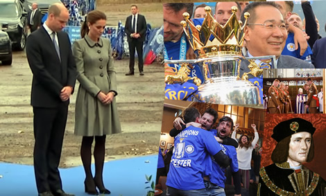 Thai businessman named as a legend by Britain's Prince William in Leicester recalling City's triumph