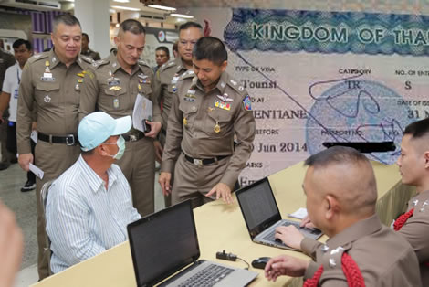 Thai conman arrested for selling fake visas to unsuspecting foreigners as farang is jailed