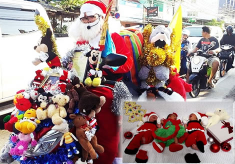 Thailand's real Santa Claus and the story of Christmas in Thailand where goodwill and dreams are prized