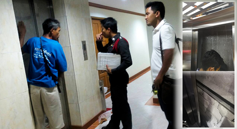 young-thai-adults-trapped-lift-elevator-condo-building-bangkok-thailand-police-phuket-elevator-death