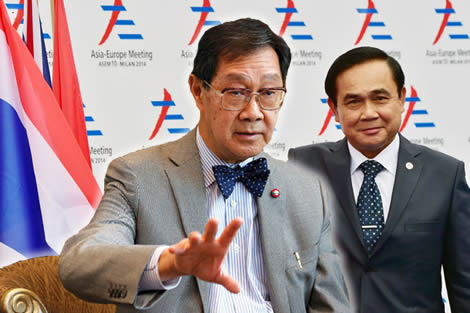 Thailand's PM under fire from former cabinet colleague as he steers the country towards a critical election