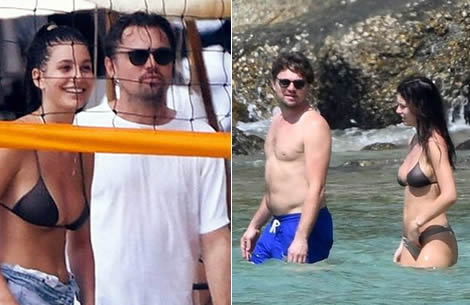 Leonardo Di Caprio returns to Thailand and the beach on vacation with his stunning Italian girlfriend