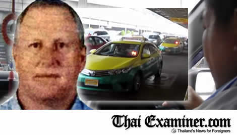 Foreigners and tourists lodge a huge number of complaints to police relating to Thai taxi cabs