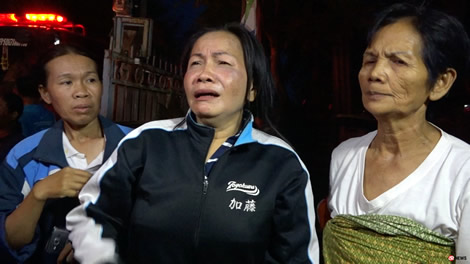 Thai man burns down his family home: Thailand's drugs problem is still a very real threat to society