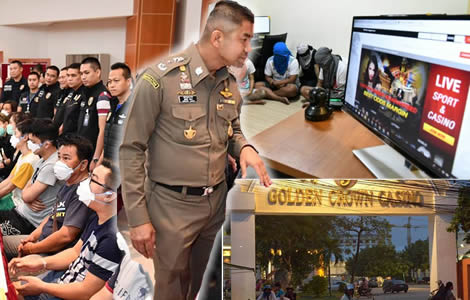 Raids on online gambling websites by 'Big Joke' highlights the scale of Thailand's illegal gambling market