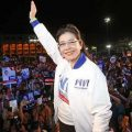 Lead opposition party in Thailand holds rally in Bangkok
