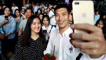 40 year old Thai billionaire and emerging election winner may face prosecution for Facebook post