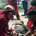 Thai man uses hammer to attack Italian riding motorbike with a broken leg and breaks his arm