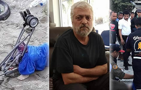 jordanian-father-kills-2-year-old-son-child-pattaya-thai-police-wife