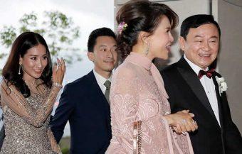 Thai princess attends lavish wedding event hosted ex Thai premier Thaksin Shinawatra in Hong Kong