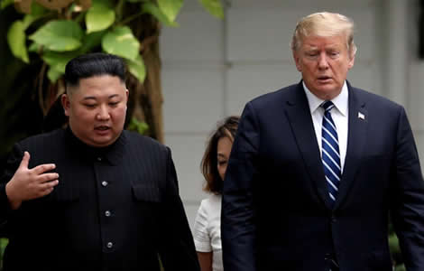 Trump walks from Hanoi summit despite initial mood of optimism over North Korean leader's demands