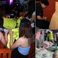 Thai police raid a sex for sale hotel in Loei province staffed by Laotian women working as prostitutes