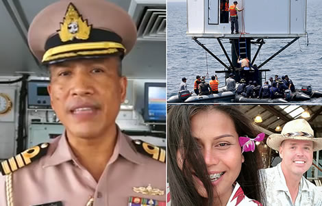 american-thai-wife-couple-thai-navy-phuket-sea-stead-structure-police-thailand-authorities-arrest