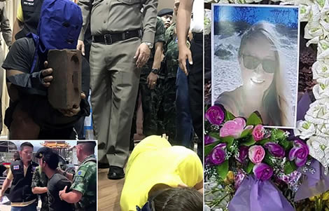 thai-island-27-year-old-german-woman-miriam-beelte-local-man-killer-thai-police-koh-si-chang