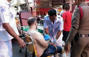 Two Thai women with foreign husbands involved in violent incidents that saw men hospitalised