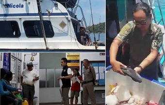 Italians held in Phang Nga since April 17th last as police probe a complaint of illegal fishing within national park