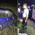 Friday evening horror smash in southern Thailand wipes out family riding pillion on a motorbike
