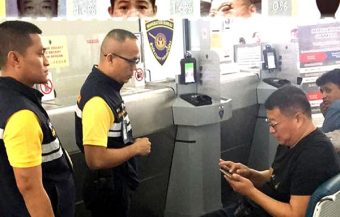 Criminal flyer exposed by new Thai police facial scanner on Friday and arrested with $500,000 in cash