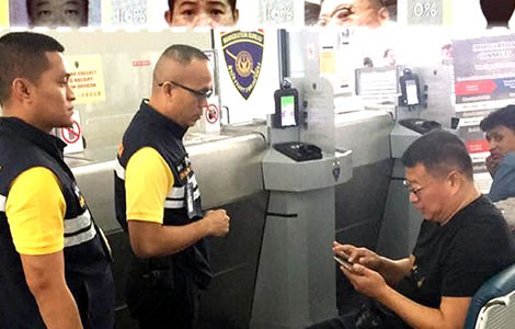 thai-police-immigration-biometric-facial-recognition-thailand-fake-passport-$500,000-foreign-criminals