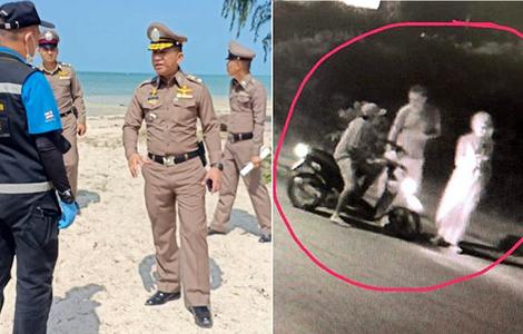 thai-police-norwegian-woman-rape-ko-pha-ngan-motorbike-suspect-arrest