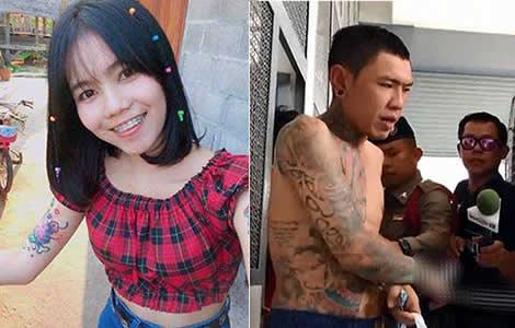 thai-woman-girlfriend-russian-roulette-man-gun-murder-thailand-khon-kaen-police