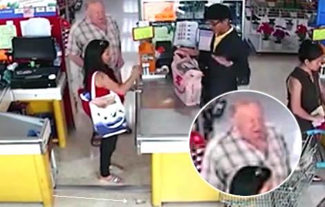 foreigner-thai-woman-theft-cash-money-supermarket-pattaya-police-jeab
