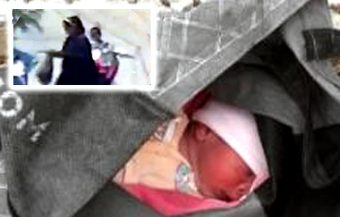 Mother abandons newborn baby as she felt she could not care for little boy on husband's income