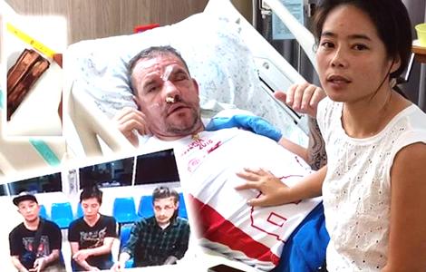 uk-man-thai-wife-attack-mae-hong-son-pai-police-cctv-footage-men
