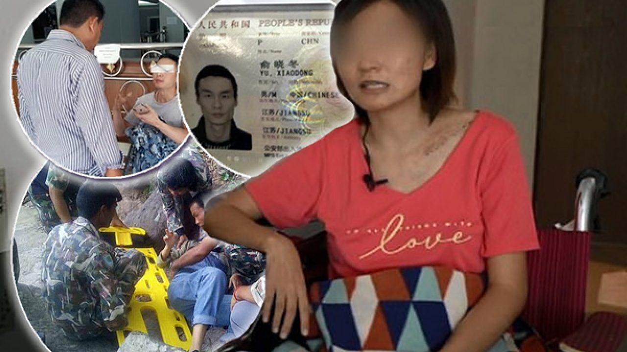 Thai wife in public