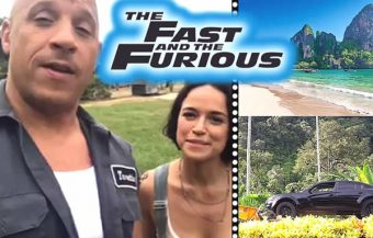 Filming of Fast and Furious movie begins in Krabi in what will be a big boost to the local economy