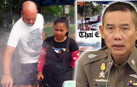 german-man-married-thai-wife-police-arrested-nakhon-ratchasima-women-thailand