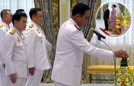 new-thai-cabinet-government-ceremony-king-prime-minister-country-people
