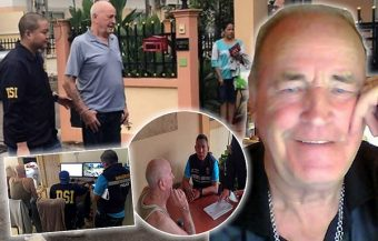 UK paedo arrested on Wednesday was living in Pattaya with a Thai wife and her daughters – held in custody