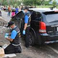 Police in Pathum Thani find family dead in a car – thought to be a suicide pact as police find charcoal stove