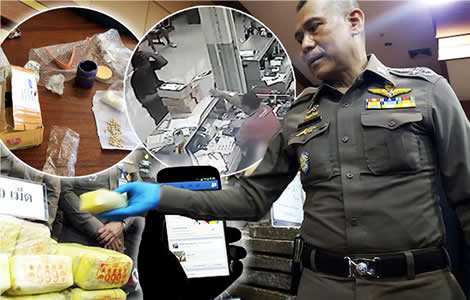 online-drugs-thailand-courier-firms-thai-police-drug-network-socila-media