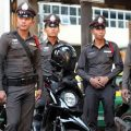 It's a hard station for Thai police and foreigners should understand better the job they do to keep order