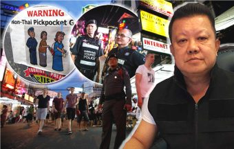 Chinese pickpockets staying in hostels as backpacker visitors targeting tourists in Bangkok