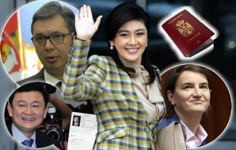 Serbian President defends Yingluck's citizenship as Thaksin tells the BBC they have Balkan friends