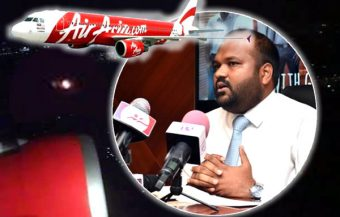 Maldives minister dashes to the airport over Air Asia Bangkok flight as plane's engine caught fire